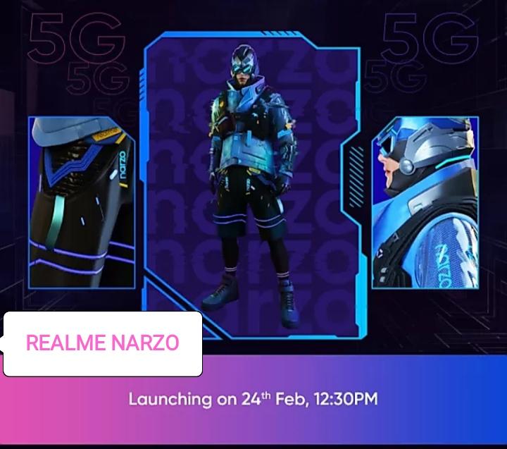 Realme Narzo 30 Pro 5G , Realme Narzo 30A ,Spacification