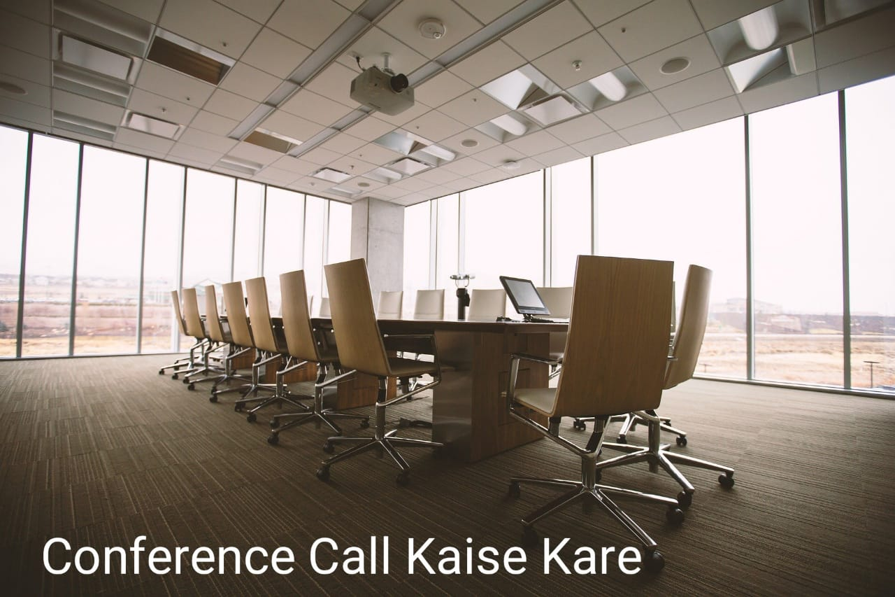 Conference Call Kaise Kare,Video and Audio Conference Call Kaise Kare