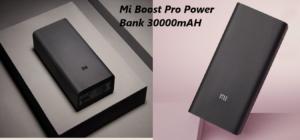 Mi Boost Pro Power Bank 30000mAH लौंच हो गया भारत मे अभी इतना है इसका prize जानिए